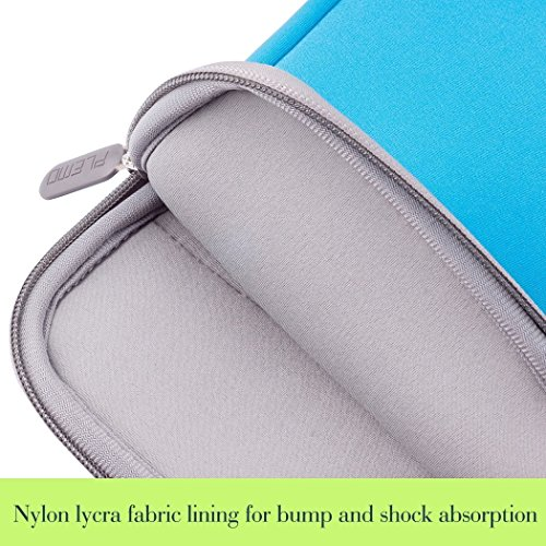 Laptop Bag, PLEMO MacBook Case, 13 - 13.3 Inch Laptop Sleeve Cover Briefcase for 12.9 iPad Pro / MacBook Air / MacBook Pro / Notebook / Ultrabook / Chromebook with Handle, Blue