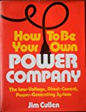 how to be direct - How to be Your Own Power Company: Low Voltage, Direct Current, Power Generating System