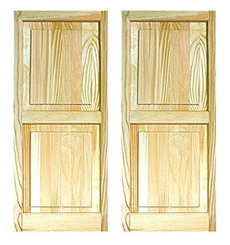 LTL Home Products SHP55 Exterior Solid Wood Raised