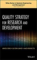 Quality Strategy for Research and Development Front Cover
