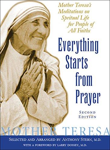 Mother teresa prayer life
