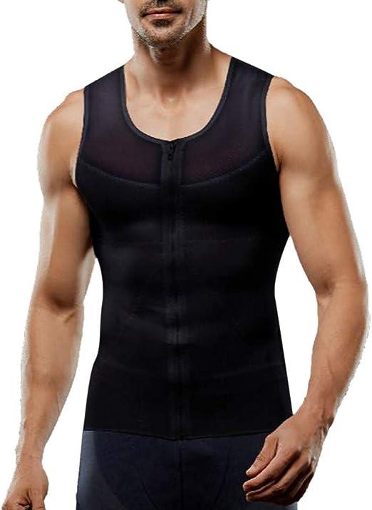STORTO Mens Undershirts Running Tank Tops Cool Dry Compression Sleeveless Shirts