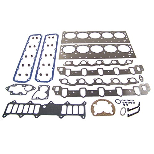 DNJ HGS1180 Graphite Head Gasket Set for 1994-2003 / Dodge/Ram 3500/8.0L / OHV / V10 / 20V / 488cid
