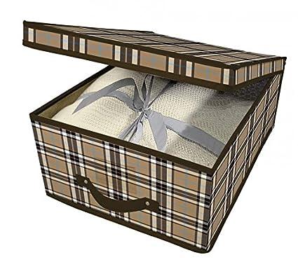 Idea - Cajas para ropa, para el cambio de temporada, juego 2 cajas de