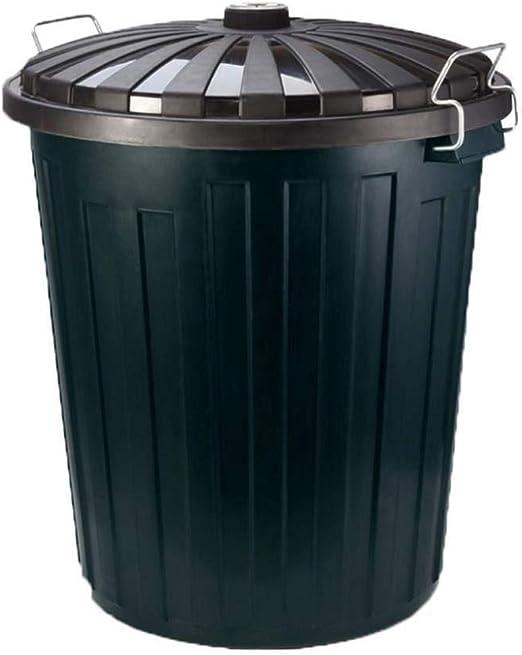 Lszdp-oficina papelera Cubos de basura Unidad de almacenamiento de gran cubo de basura de plástico
