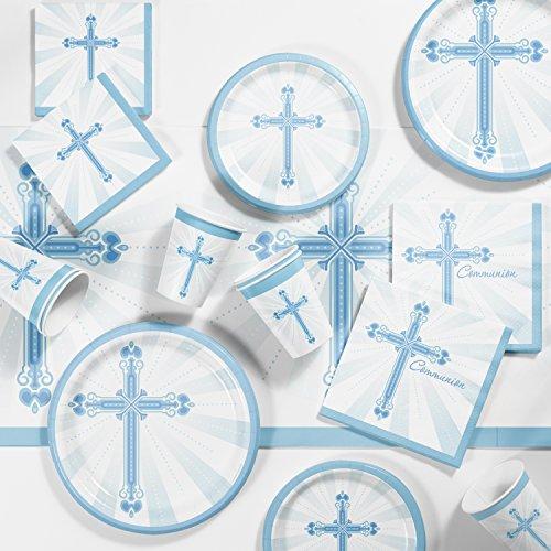(Communion Blessings Blue Tableware)