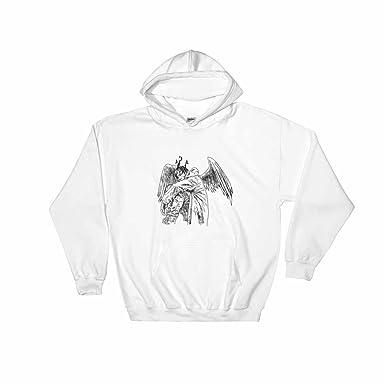 364ed0af68ea Amazon.com: Travis Scott Birds in the Trap White Hoodie Sweater ...