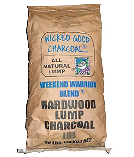 Wicked Good Charcoal Lump Bag – Best Lump Charcoal For Small Grills