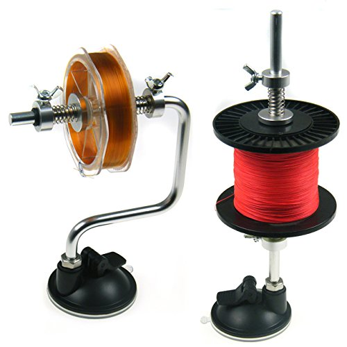 Portable Fishing Line Winder Spooler Machine Spinning Ree...