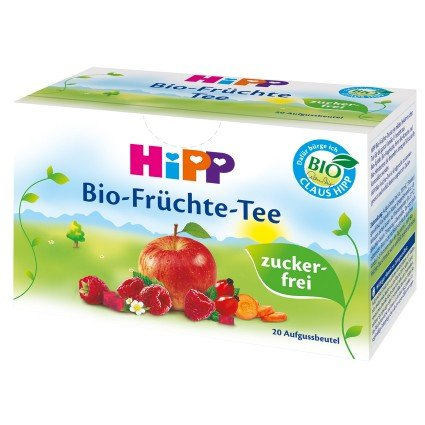 HiPP Organic Fruit Tea for Babies (20 Teabags)