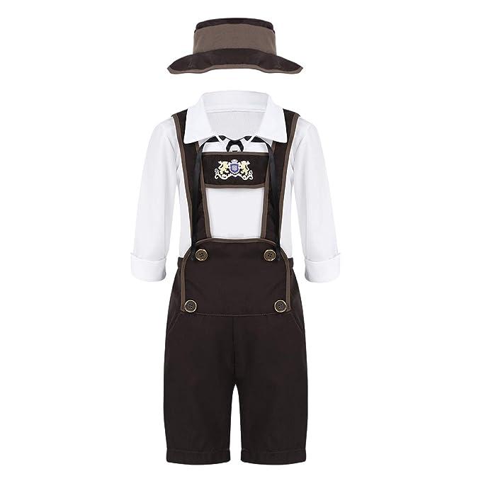 Amazon.com: Freebily Oktoberfest Outfits Costume Halloween ...