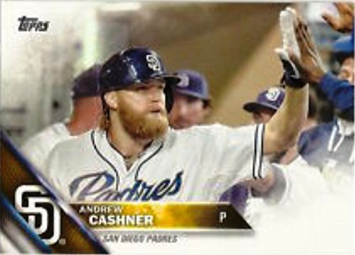 2016 Andrew Cashner #697 Baseball Card