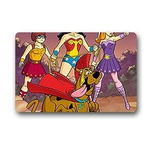 """Custom Scooby Doo Fashion entrada Felpudo para interiores/al aire libre alfombra, 23.6x15.7"""""""