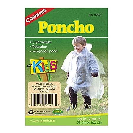 Coghlans Emergencia-Poncho para niños: Amazon.es: Deportes y ...