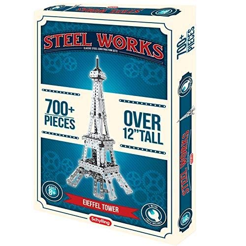 Schylling Steel Works Eiffel Tower Construction Set from Schylling