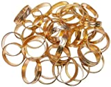 Gold Color Rings Pack of 40