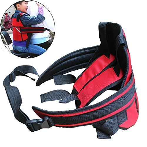 Children Motorcycle Safety Belt Children Motorcycle Safety Strap Seats Belt Electric Vehicle Safety Harness
