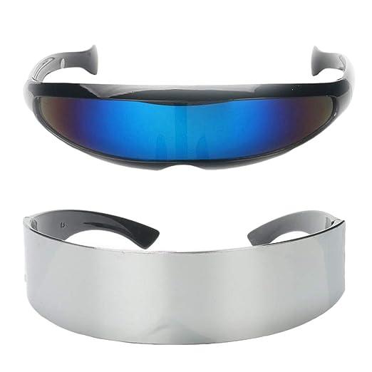D DOLITY - Juego de 2 Gafas de Sol para Disfraz de Robot de Alien ...