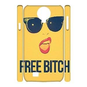 3D Bitch Series, Samsung Galaxy S4 Cases, Free Bitch Cases For Samsung Galaxy S4 [White]