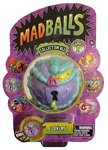 Just Play American Greetings - Madballs LOCK LIPS - Series 2
