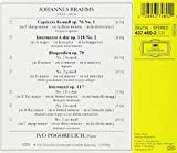 Brahms: Intermezzi Op. 117 / Rhapsodies Op. 79