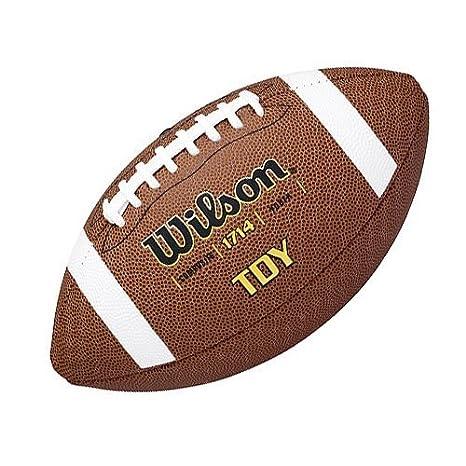 Wilson TDY - Balón de fútbol Americano, Color marrón: Amazon.es ...