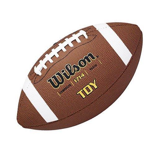 Wilson Football TDY, braun F1714X