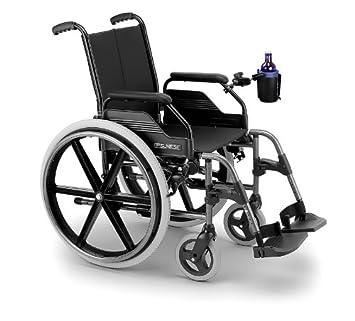 Amazon.es: Heavy Duty RAM Barra de manillar Self Nivelación bebida copa soporte para Invacare Probasics silla de ruedas y médicos Medline Nova Karman ...