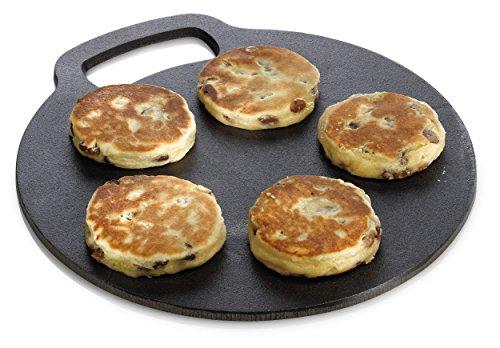 Kitchen Craft - Bandeja de hierro fundido para horno (27 cm)