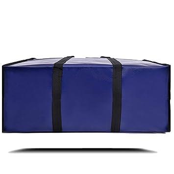 Berri BASICS, Bolsas de viaje Oxford, almacenamiento de lavandería, bolsa de compras con cremallera doble reutilizable, Grande, azul: Amazon.es: Hogar