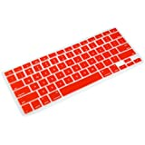 Red Keyboard Skin Compatible with Apple Macbook