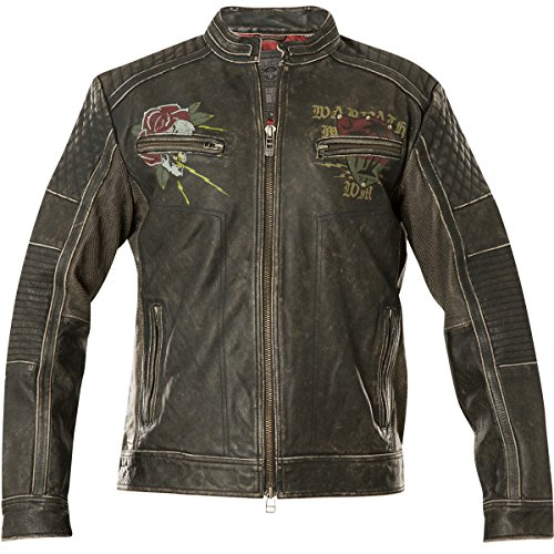 (Affliction Men's Fast Motors Black Jacket)