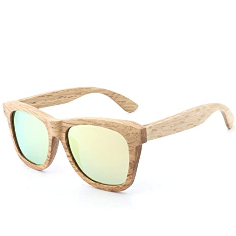L.L.QYL Lunettes Gafas de Sol de Moda Retro Hechas a Mano de ...
