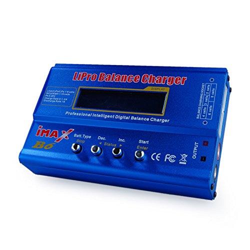 dragonpad B6cargador de balance para 1–6Cell LiPO, Li-Ion, la vida de batería (A123), PB, 1–16celdas NiCd...
