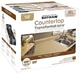 Kitchen Countertop Paint Kits Rust-Oleum 258514 Counter Top Transformations, Small Kit, Desert Sand