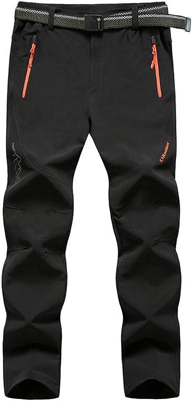 Casual Pantalones Largos para Hombre, Morbuy Talla Grande Slim Fit ...