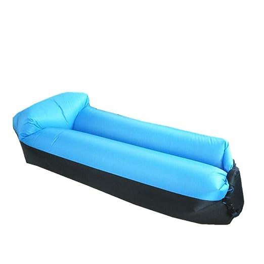 YUEZHANG Sofa Hinchable Lazy Inflable al Aire Libre y Comodo ...