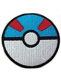 "InspireMe Family Owned Pokemon Go Ultra Storing Pokeball Red and Blue 2.5"""
