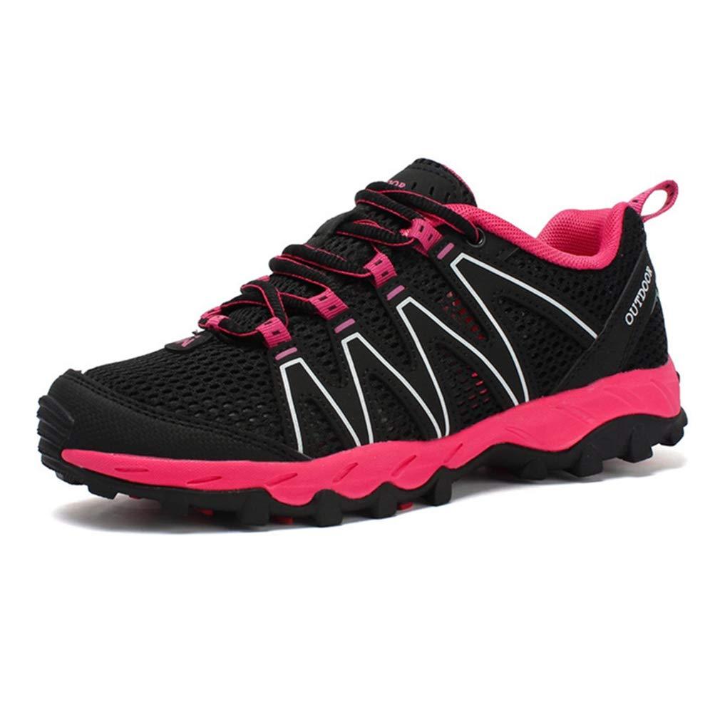 Women's Mesh Hiking Shoes Lightweight Outdoor Running Trail Hiker Non-Slip Casual Waterproof Casual Non-Slip Shoe Gray B07GFHMVLB Trekking & Hiking 497be6