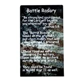 Soldier's Battle Rosary for Military or Those in