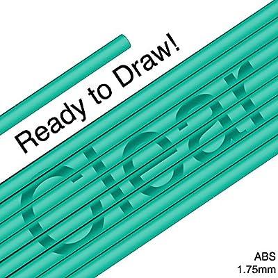 3D Pen Filament ABS 1.75mm - Clear Green