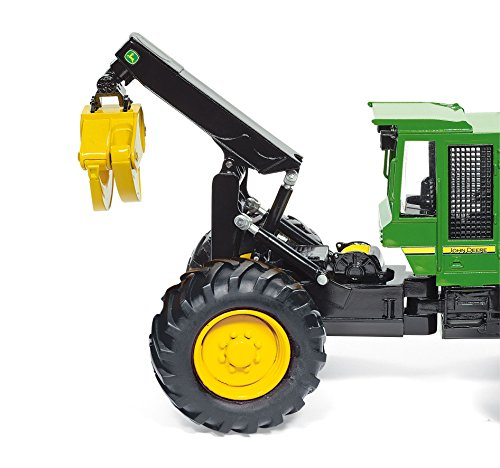 Siku 1:32 Scale Die-Cast Metals John Deere Skidde Farm Model Game