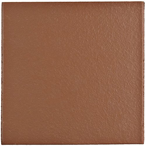 (SomerTile FGA6KRD Carriere Quarry Floor and Wall Tile, 5.875