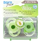 Born Free BPA-Free Bliss Natural Shape Pacifier, Neutral, 0-6M