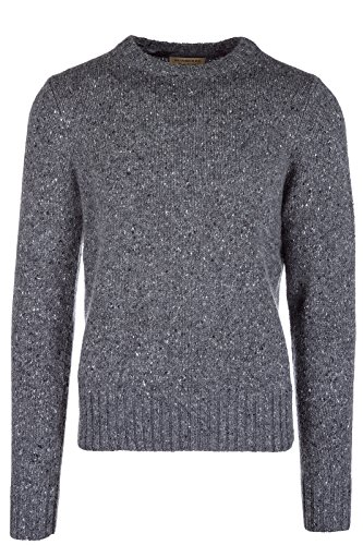 BURBERRY Men's Crew Neck Neckline Jumper Sweater Pullover Rossan Grey US Size M (US M) 40563291