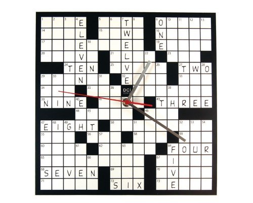 DCI Crossword Clock