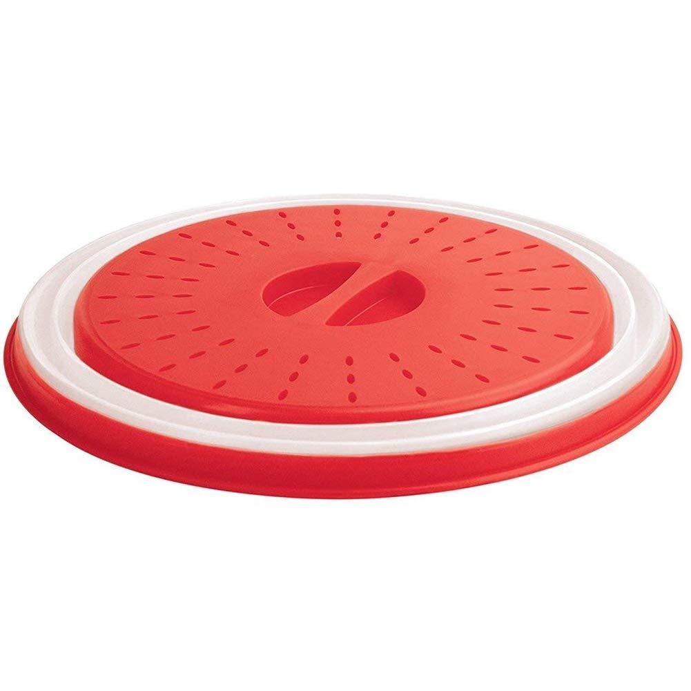 Ndier Funda Plegable para microondas ; 10,5pulgadas Libre de BPA y no tóxico para Alimentos