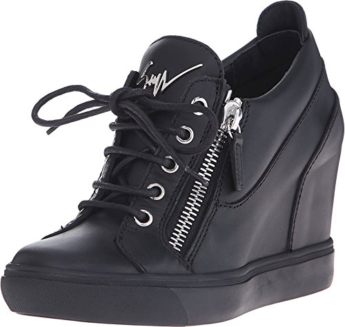 Giuseppe Zanotti Women's RS6125 Birel Nero Sneaker 40 (US Women's 10) M