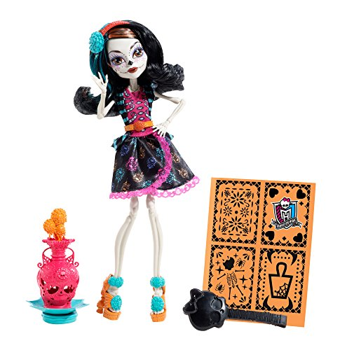 Skelita Calaveras Monster High Doll Costume (Monster High Art Class Skelita Calaveras Doll (Discontinued by manufacturer))