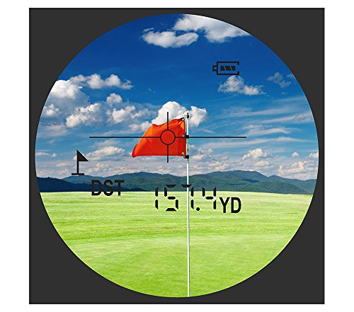 Precision Pro Golf Nexus Laser Rangefinder - Golfing Range Finder Accurate up to 400 Yards - Perfect Golf Accessory by Precision Pro Golf (Image #4)